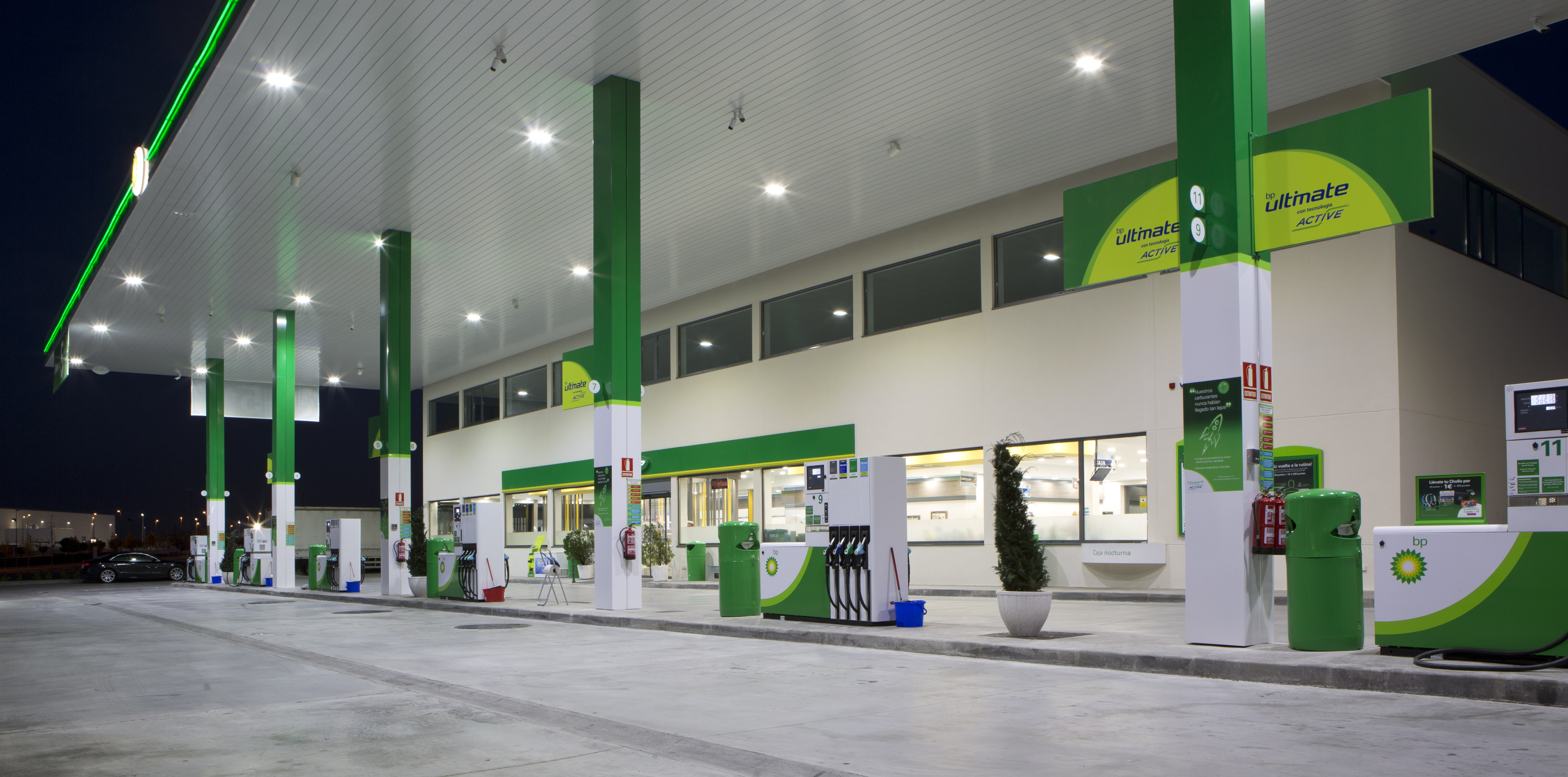 gasolineras mixtas