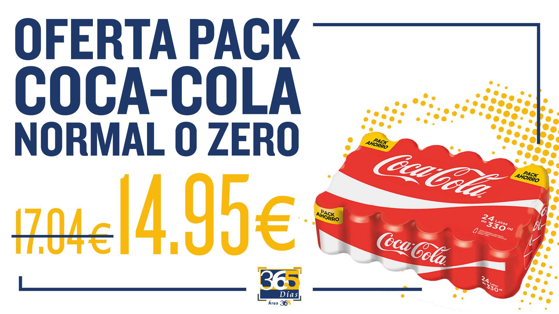 pack coca-cola