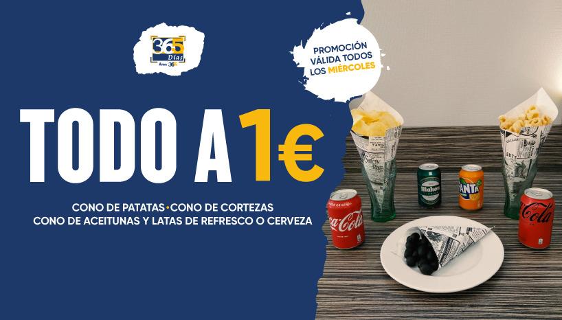 miercoles de conos a 1€