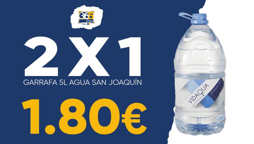 2X1 agua