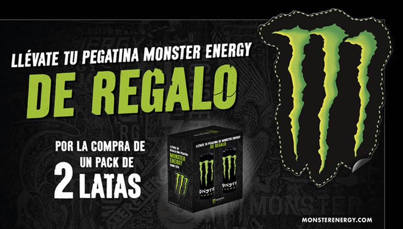 pegatina gratis Monster